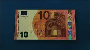 New 10 euro note
